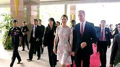 Kate Middleton GIFs - South Sea Tour 2012 Duchess Kate and Prince William