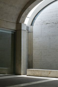 Let me introduce you to architecture.  - Kimbell Art Museum by Louis Kahn, Fort Worth, Texas