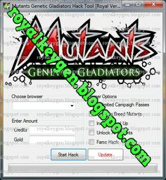 Royal Cheats: Mutants Genetic Gladiators Hack Tool, Cheats and Tips [FREE Download] [2013]