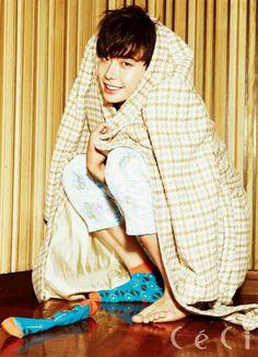Fofo demais! #LeeJongSuk ♡