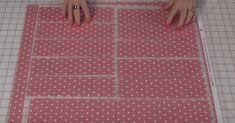 Cut A Fat Quarter Into Strips And Get The Easiest Quilt Ever!