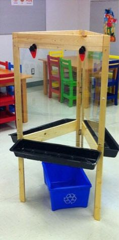 Ikea childrens easel woodworking projects plans for Table lit ordinateur ikea