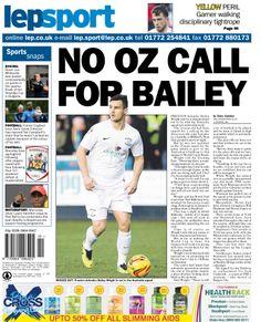 Lancashire Evening Post back page 04/03/14