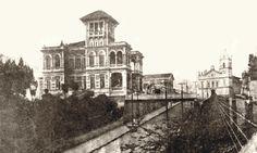 Palácio Rodovanho, 1905 ao fundo a Igreja de Nossa Senhora da Penha - São Paulo