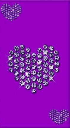 Heart Iphone Wallpaper, Bling Wallpaper, Flowery Wallpaper, Love Wallpaper, Cellphone Wallpaper, Wallpaper Backgrounds, Diamond Wallpaper, Purple Backgrounds, Mobile Wallpaper