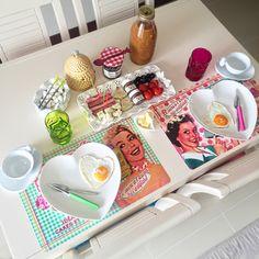 Retro breakfast