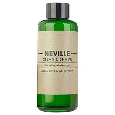 Neville 2 in 1 Clean and Shave, 200ml
