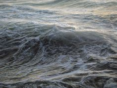 I have never seen water rendered like this... ever. Not in film, photography, or otherwise. Bravo Ron! } Faith is Torment | Art and Design Blog: Paintings by Ran Ortner