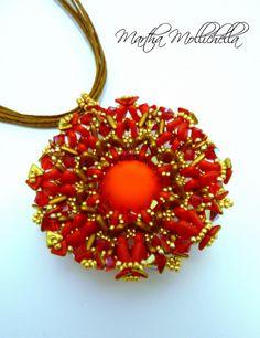 ciondolo handmade by Martha Mollichella - Lacasinaditobia Lacasinaditobia