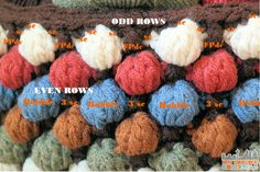 Free Bobble Storage Basket Crochet Pattern - Bobble Basket Stitch Guide