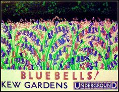 London Underground Kew Gardens poster by Ledlon89, via Flickr