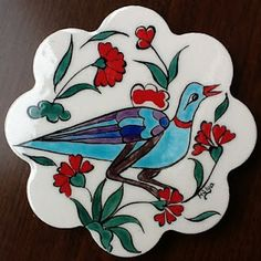 ceramic (çini) coaster