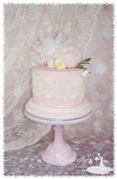 21st birthday cake by Julie