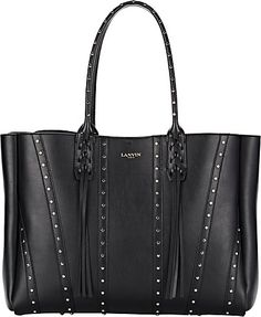 We Adore: The Tassel-Handle Shopper from Lanvin at Barneys New York