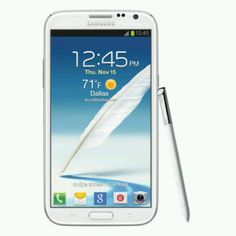 Samsung Galaxy Note II.  Can't wait to get this phablet!