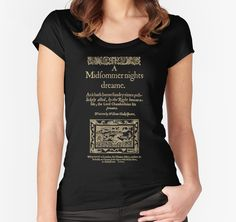 Shakespeare, A midsummer night's dream. Dark clothes version by bibliotee