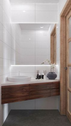 Here are the Small Scandinavian Bathroom Design Ideas. This article about Small Scandinavian Bathroom Design Ideas was posted under the … Apartment Interior Design, Bathroom Interior Design, Small Space Interior Design, Scandinavian Bathroom Design Ideas, Modern Scandinavian Interior, Scandinavian Bedroom, Modern Interiors, Ideas Baños, Decor Ideas