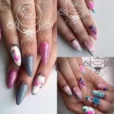 Kirsty Meakin Nail Art, Pink Flamingo | NAIO NAILS PRODUCTS