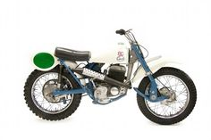 Vintage 1964 Greeves Motocross Bike - Old Dirt Bikes From The 1960's
