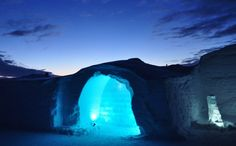 Ice Hotel - rare adventure hotels - http://www.activejunky.com/thefix/12-bizarre-adventure-hotels-5