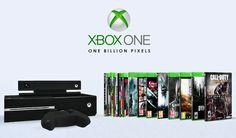 One Billion Pixels: Xbox One Games & Consoles (Decor Clutter)
