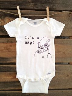 Admiral Ackbar Onesie by SatMorningPancakes on Etsy, $18.00  oh man. this exists in the world.