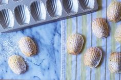 Brown Butter Meyer Lemon Madeleines