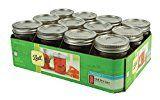 #10: Ball Half Pint Regular Mouth Jars and Lids BPA Free 8 oz Set of 12
