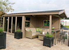 The Studio Pavilion   Studios from Malvern Garden Buildings Outside Seating, Outside Patio, Felt Roof Tiles, Timber Roof, Roof Colors, Cedar Shingles, Garden Equipment, Outdoor Retreat, Garden Studio