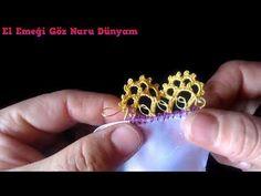 348-Sıralı tığ oyası yapılışı - YouTube