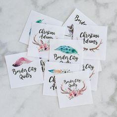 fabric tag knitting label personalized label custom fabric Personalized Labels, Custom Labels, Iron On Labels, Thing 1, Fabric Labels, Fabric Yarn, Delicate Wash, Label Design, Custom Fabric