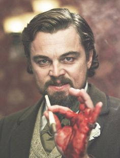 One of the most depraved, vile, but hospitable villains ever to be put on screen - Calvin Candie...Dicaprio has been sadly overlooked for this performance in the awards arena, but history will not forget.