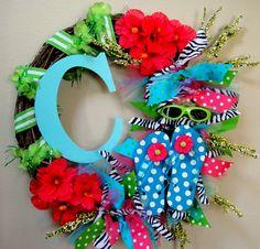 wreath for summer