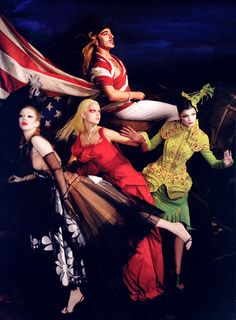Galiano Royale by Simon Procter for Bazaar, Celebrating 10 years of Galliano at Dior House.