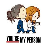 Grey's Anatomy You're My Person Greys Anatomie Anatomy Grey, Greys Anatomy Frases, Grey Anatomy Quotes, Greys Anatomy Tshirts, Grey's Anatomy Merchandise, Citations Film, You Are My Person, Grey Quotes, Dark And Twisty