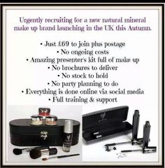 Younique reps wanted across the uk. Message for details!