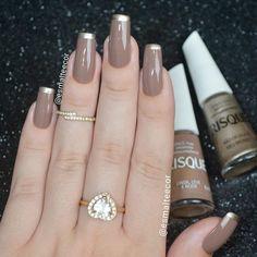 Venha conhecer a @docepelicula  Siga no Instagram a minha parceira @esmalteecor ❤️ Beauty Nails, Hair Beauty, Claw Nails, Nail Art Designs, Nail Polish, How To Make, Manicures, Chocolates, Nailart