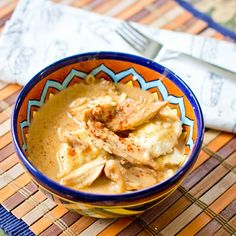 Hungarian Chicken Paprikash can be made gluten and dairy free with #gf flour and full fat coconut milk or other alternative milks. You could also do dairy free sour cream.