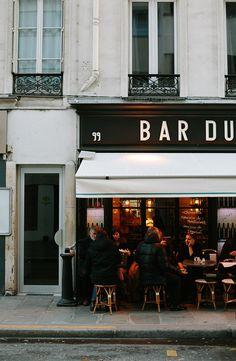 FleaingFrance.com Oh The Places You'll Go, Places To Travel, Places To Visit, Paris 3, I Love Paris, Paris Cafe, Cafe Shop, Cafe Bar, Bakery Cafe