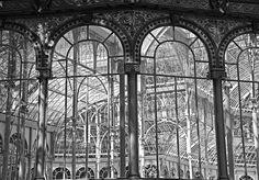 vue intérieure du Crystal Palace