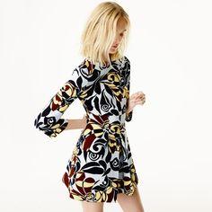 Robe imprimée Zara c