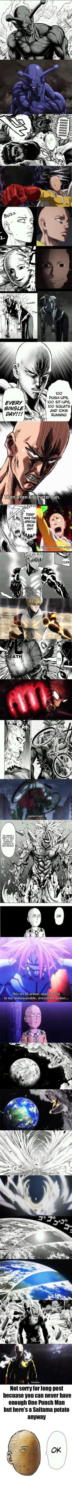A One Punch Man comparison: Manga vs Anime