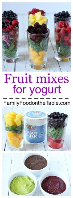 Homemade fruit mixes for yogurt with kale or spinach great for babies and kids… – Flora Song – Homemade baby foods Healthy Smoothies For Kids, Healthy Snacks For Kids, Fruit Smoothies, Healthy Drinks, Toddler Smoothies, Homemade Smoothies, Vegetable Smoothies, Diy Snacks, Fruit Drinks