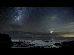 Stunning! ----- This time lapse video is the result of almost 1.5 years of work, 31 hours of taking images during six nights on Southern Ocean Coast in Australia.