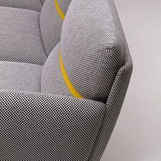 Belt sofa by Vico Magistretti