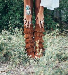 #FallFringe | Tessa Barton | Minnetonka Moccasin