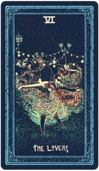 Tiết lộ Lá The Lovers - Prisma Visions Tarot bài tarot Xem thêm tại http://tarot.vn/la-the-lovers-prisma-visions-tarot/