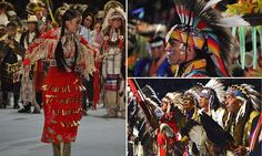The Gathering of Nations, one of North America's most prominent American Indian powwows, began in Albuquerque, New Mexico on Friday night.