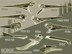 Just a car guy : Hood ornament identification guide - Dodge