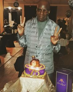 Mr Otis 70th Birthday Crown Royal theme party